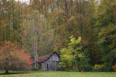 Nantahala Barn horizontal Royalty Free Stock Image