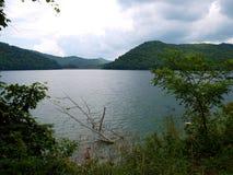 Nantahala jezioro Obraz Royalty Free