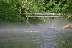 Nantahala River Rafters 2 Royalty Free Stock Photos