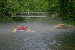 Nantahala River Rafters 3 Royalty Free Stock Images