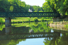 Nantes-Brest canal, France Stock Image