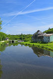 Nantes-Brest canal, France Stock Photography