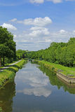 Nantes-Brest canal, France Stock Photos