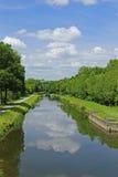 Nantes-Brest canal, France Stock Photos
