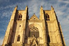 Nantes Cathedral in Nantes Royalty Free Stock Image
