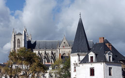 Nantes city Stock Photo