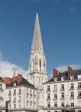 Nantes city Royalty Free Stock Image