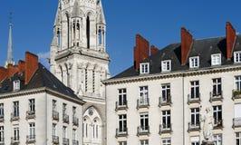 Nantes city Royalty Free Stock Photos