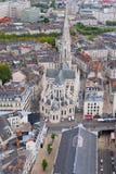 Nantes an einem Sommertag Lizenzfreie Stockfotografie