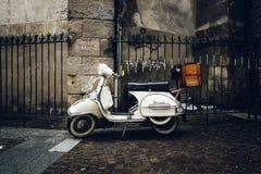Vintage Vespa scooter Royalty Free Stock Photo