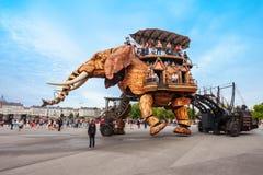 Elephant Machines Isle of Nantes royalty free stock images