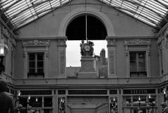 Nantes przejścia Pommeraye szczegół obrazy stock