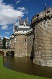 Nantes-Schloss stockfotos