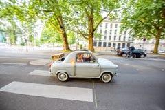 Nantes stad i Frankrike royaltyfri bild