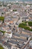 Nantes at a summer day Royalty Free Stock Images