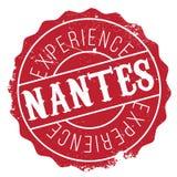 Nantes znaczka gumy grunge Zdjęcie Stock