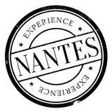 Nantes znaczka gumy grunge Obrazy Stock