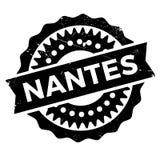 Nantes znaczka gumy grunge Zdjęcie Royalty Free
