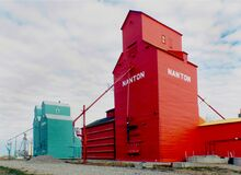 Nanton Alberta. Royalty Free Stock Photos