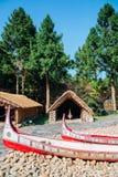Nantou County, Taiwan - 8 de dezembro de 2015: Aborígene Formosan c fotografia de stock royalty free
