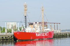 Nantucket Lightship Royalty Free Stock Images