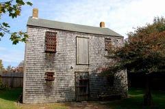 Nantucket, MA: 19. Jahrhundert-Gefängnis Lizenzfreie Stockbilder