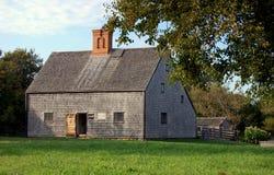Nantucket, mA : Chambre 1686 de cercueil de Jethro Photos stock