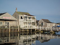 Nantucket. View of Nantucket Harbor, Nantucket, Massachusetts, USA Stock Images