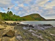 Nanuya Balavu ö, Fiji Arkivbild