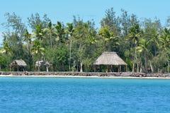 Nanuya Levu island in the Yasawa Group Fiji stock image