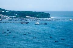 Nanwan port,Weizhou Island,China Stock Photos
