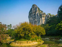 Nanxi Park Guilin Royalty Free Stock Image