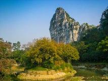 Nanxi Park Guilin. Eastphoto, tukuchina,  Nanxi Park Guilin Royalty Free Stock Image
