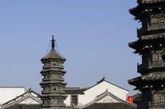 Nanxiang's Twin Pagodas Shanghai China Stock Image