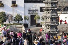 Nanxiang Town Shanghai Spring festival Stock Photography