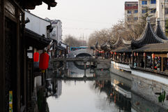 Nanxiang Water Canal Shanghai Royalty Free Stock Images