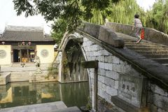 Nanxun ancient town view,China royalty free stock photography