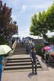 Nanxun town. China Zhejiang Huzhou Nanxun town is an ancient town, is a tourist destination royalty free stock photo