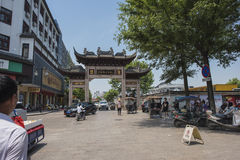 Nanxun town. China Zhejiang Huzhou Nanxun town is an ancient town, is a tourist destination stock photography