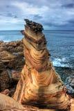 Nanya, litorale nordico della Taiwan Immagine Stock Libera da Diritti