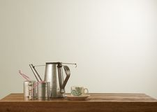 Nanyang style coffee set Royalty Free Stock Image