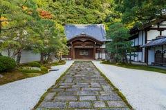 Nanzen籍寺庙在京都,日本 免版税图库摄影