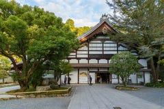 Nanzen籍寺庙在京都,日本 免版税库存照片