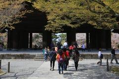 Nanzen籍寺庙在京都,日本 免版税库存图片