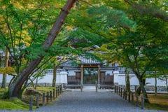 Nanzen籍寺庙在京都 免版税库存图片