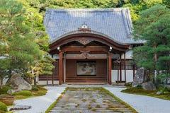 Nanzen籍寺庙在京都 图库摄影