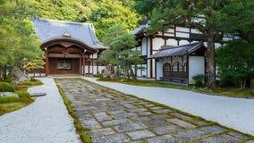 Nanzen籍寺庙在京都 库存图片