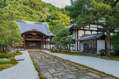 Nanzen籍寺庙在京都 库存照片