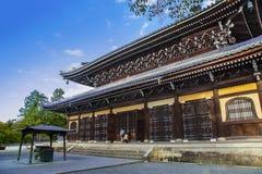 Nanzen籍寺庙的达摩霍尔(发度)在京都 免版税库存照片