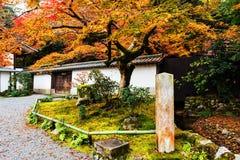 Nanzen-ji at autumn, Kyoto. Nanzen-ji Temple with autumn foliage color, Kyoto, Japan Royalty Free Stock Photos